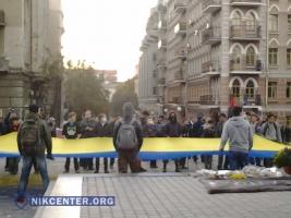 Одесские активисты не испугались провокаций: в городе прошел марш героев