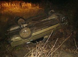 В Одесской области контрабандист попал в аварию во время бегства от пограничников