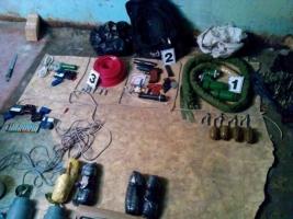 В Харькове на Пасху задержали 11 диверсантов с арсеналом оружия
