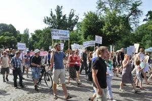 Одесситы протестовали против застройки города