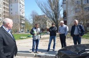 В Херсоне инициативная группа проинспектировала парковки