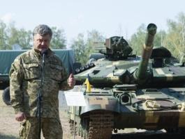 Порошенко похвалился боевой мощью Украины