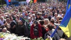 В Харькове возле Мемориала Славы произошли столкновения