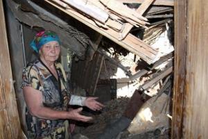 За время боевых действий в Марьинском районе разрушено более тысячи домов
