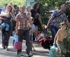 МЧС РФ: в России почти 24 тысячи украинцев, свыше 9 тысяч из них - дети