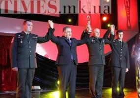 Николаевская 79-я аэромобильная бригада удостоена почетного звания «Человек года-2014»