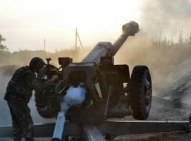 За сутки на Донбассе зафиксировано 55 обстрелов боевиками позиций сил АТО