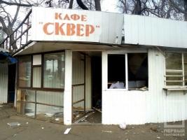 В Одессе демонтируют торговые точки возле железнодорожного вокзала