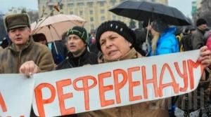 Порошенко пообещал референдум по статусу Донбасса