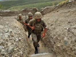 В результате столкновений в Нагорном Карабахе погибли пятеро человек