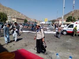 В центре Кабула прогремел взрыв: 61 человек погиб, 207 ранены