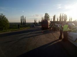 В результате автоаварии под Николаевом пострадали 7 человек