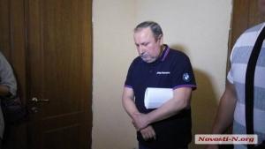 Задержанный на взятке вице-губернатор Николаевщины прибыл в суд