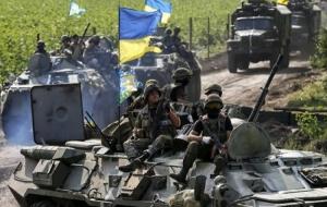 За сутки в зоне АТО ранены два украинских военных - штаб