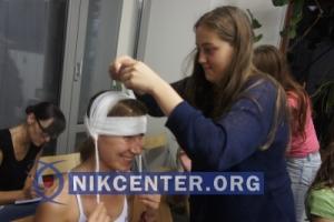 Одесский волонтер проводит бесплатные медицинские  курсы