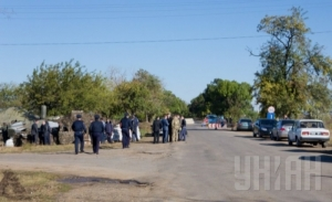 Въезды в Одессу оградили блокпостами