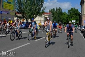 Сегодня в Николаеве состоялся масштабный велопробег