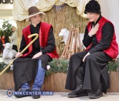Посетители херсонского торгово-развлекательного центра стали свидетелями… рождения Христа