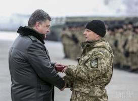 Визит Порошенко парализовал движение в Краматорске