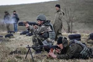 В зоне проведения АТО украинские военные отбили две атаки диверсантов - штаб