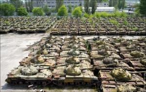 В Николаеве разворовывали бронетанковую технику