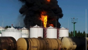 Пожар на нефтебазе в Киевской области полностью ликвидировали - ГСЧС