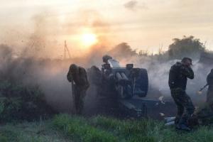 За сутки в зоне АТО погиб 1 военный, ещё 5 - ранены - штаб