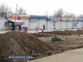 Возле Николаевского зоопарка ведутся земляные работы, о законности которых не знают ни в горсовете, ни в ГАСКе
