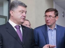 Порошенко предложил Луценко вернуться на должно главы фракции БПП