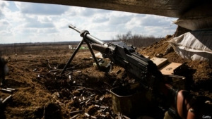 Боевики «накрыли» из тяжелой артиллерии Широкино и Лебединское