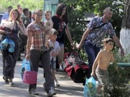 ГСЧС: из зоны проведения антитеррористической операции переселено почти 43 тысячи человек