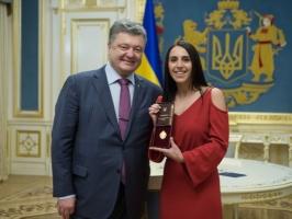 Президент присвоил Джамале звание народной артистки Украины