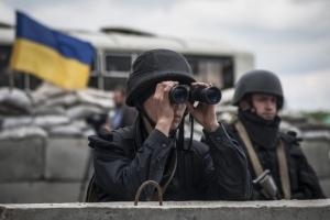 В новогоднюю ночь боевики 15 раз обстреляли позиции АТО