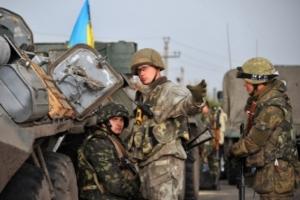 Боевики более тридцати раз обстреляли позиции ВСУ - свода за сутки в АТО