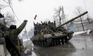 Боевики стягивают к Дебальцево танки и бронемашины - ИС