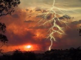 На Херсонщине пастух погиб от удара молнии