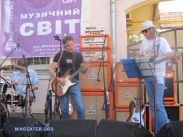 Николаевские рокеры выступили с концертом на Московской