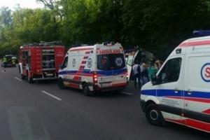 Причиной аварии в Польше, где погибли три украинца, могла стать усталость водителя