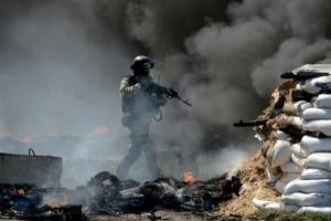 Ситуация в зоне АТО: позиции украинских военных обстреливались 40 раз