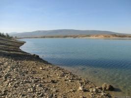 В Крыму мелеет одно из крупнейших водохранилищ