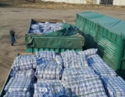 В Одесской области СБУ задержала партию контрабандных сумок