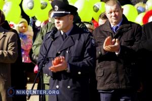 В Херсоне патрульные полицейские торжественно приняли присягу. ФОТОРЕПОРТАЖ