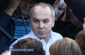 В Николаеве Шуфрича забросали яйцами (ВИДЕО)