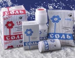 Россия запретила ввоз украинской пищевой соли
