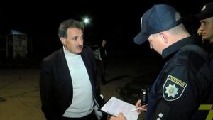 Одесского судью поймали пьяным за рулем