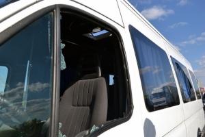 Под Одессой неизвестные обстреляли маршрутку с пассажирами