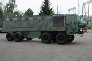 «АвтоКрАЗ» готовит бронированное многоцелевое шасси для Минобороны