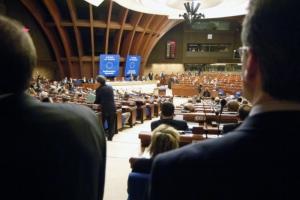«Мое присутствие здесь возможно, в том числе, и благодаря вам». Савченко выступила на заседании ПАСЕ