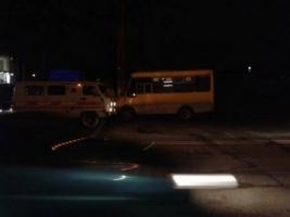 В Херсоне водитель маршрутки потерял сознание на ходу. Пассажиру пришлось взять ситуацию в свои руки