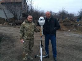 Волонтеры вооружили украинских «киборгов» камерами с 36-ти кратным зумом